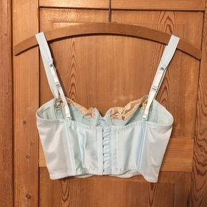 9588cda5067815 Dior Intimates   Sleepwear - Christian Dior longline lace bra bustier logo  XS